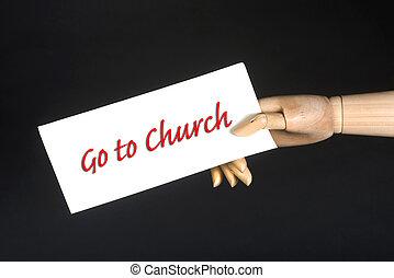 去, 教堂