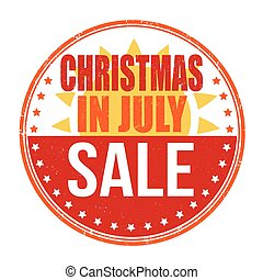 Christmas in july stamp christmas in july grunge rubber