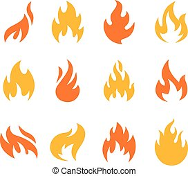 Fire and Flame Symbols