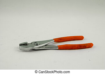 Pliers - A pliers on a white background