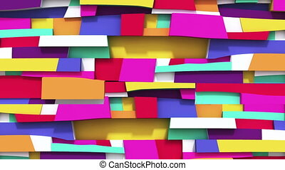 Abstract vivid colorful background with Irregularity...