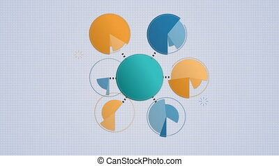 Circle diagram flow chart, 7 circle - Circle diagram flow...