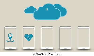 Download application data to cloud1 - Download application...