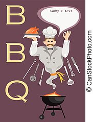 bbq funny cook