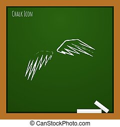 Vector wings icon. Eps10
