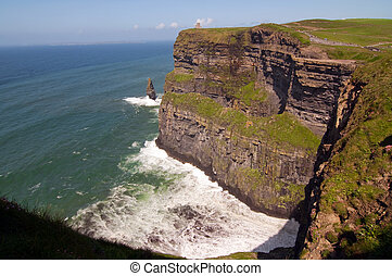 capture of the cliffs of moher, ireland