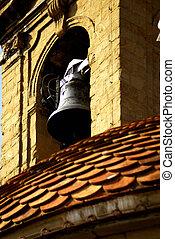 belltower - a belltower in the maquet of san...