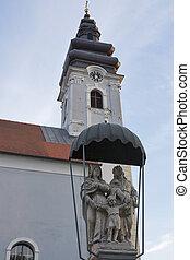 Church of St. James in Prelog, Croatia