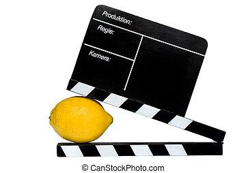Lemon story - Lemon Story - Lemon and filmmaker flap on...