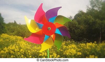 Pinwheel - Childish pinwheel