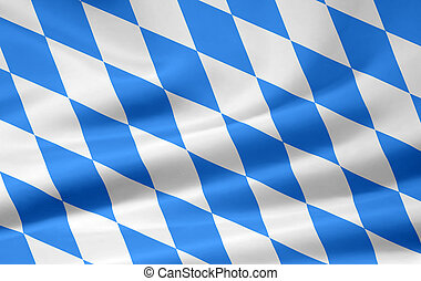 Bavarian Flag - Very large version of a bavarian flag
