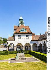 Sprudelhof in Bad Nauheim in summer - beautiful Sprudelhof...