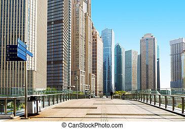 Shanghai China - China Shanghai urban landscape, landmark...