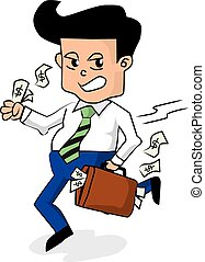 Businessman With A Briefcase.