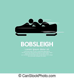 Bobsleigh - Bobsleigh Vector Illustration