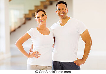 couple after exercising