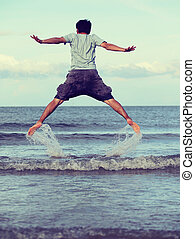 Jump to the freedom