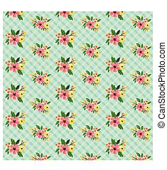 shabby chic floral background