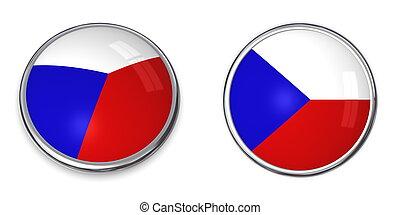 Banner Button Czech