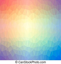 Abstract geometric background of tr