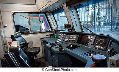 Train cabin - Interior of the russian train cabin