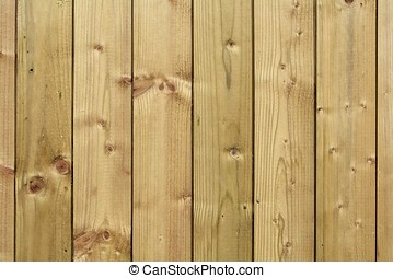 wooden fence - planks on a wooden fence