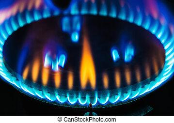 kitchen gas burner flame - stove for cooking gas burner blue...