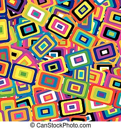 Geometric background with rectangles included in one another