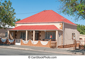 Typical house in Oudtshoorn - Typical house from the...
