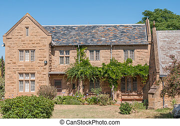 Rectory of the St Judes Anglican Church in Oudtshoorn, South...