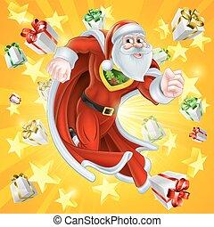 Santa Claus the Christmas Hero