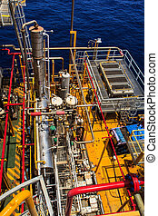 Offshore Industry oil and gas production petroleum pipeline