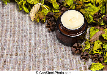 Natural skin care cream