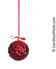 Christmas Decoration - Christmas decoration red ball...