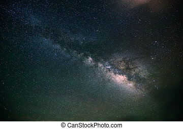 galaxy milky way background - night scene milky way...