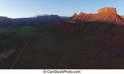 Utah Landscape Sunrise over the Valley - Fisher Towers La...