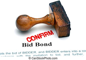 Bid bond - approved