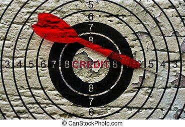 Credit target
