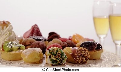 italian pastries - Italian pastries assorted rotating with...