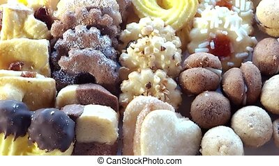 assorted tea biscuits - italian pastries, assorted tea...