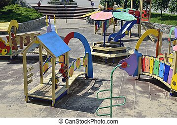 openspace nursery playground - empty openspace nursery...