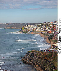 Newcastle Australia - Bar Beach and Merewether beach...