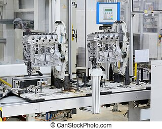 Engine manufacturing - Production line for manufacturing of...
