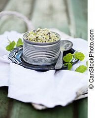 Chocolate chip mint ice cream