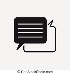 office conversation icon