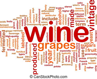 Wine vintage background concept - Background concept...
