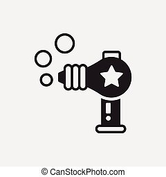 toy water gun icon