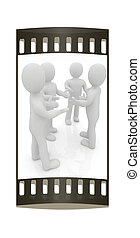 3d man Discussion The film strip - 3d man Discussion on a...