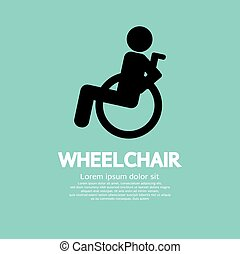 Wheelchair.