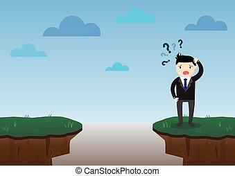 Businessman Risk Concept